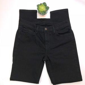 J Brand Skinny Leg #811 Shadow Wash Jeans Black 28